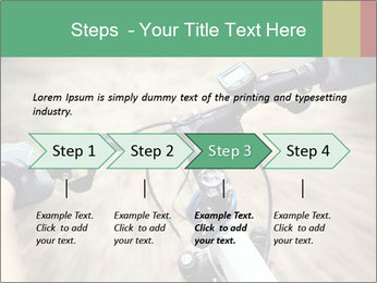 Bike on forest PowerPoint Template - Slide 4
