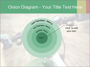 Bike on forest PowerPoint Template - Slide 61