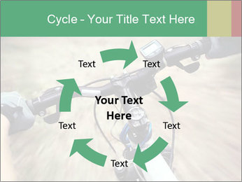 Bike on forest PowerPoint Template - Slide 62