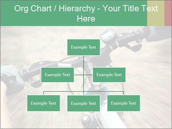 Bike on forest PowerPoint Template - Slide 66