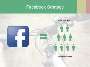 Bike on forest PowerPoint Template - Slide 7