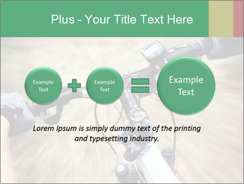Bike on forest PowerPoint Template - Slide 75