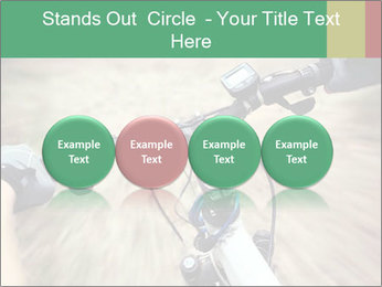 Bike on forest PowerPoint Template - Slide 76