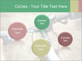 Bike on forest PowerPoint Template - Slide 77