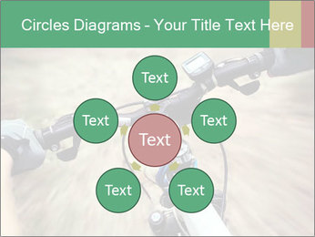 Bike on forest PowerPoint Template - Slide 78