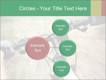 Bike on forest PowerPoint Template - Slide 79