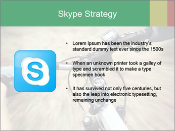 Bike on forest PowerPoint Template - Slide 8