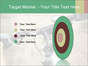 Bike on forest PowerPoint Template - Slide 84