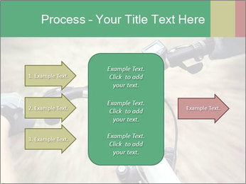 Bike on forest PowerPoint Template - Slide 85