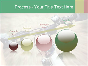 Bike on forest PowerPoint Template - Slide 87
