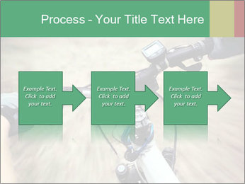 Bike on forest PowerPoint Template - Slide 88