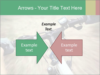 Bike on forest PowerPoint Template - Slide 90