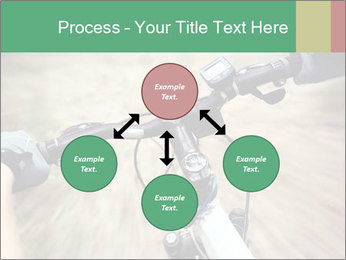 Bike on forest PowerPoint Template - Slide 91