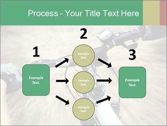 Bike on forest PowerPoint Template - Slide 92