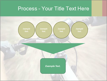 Bike on forest PowerPoint Template - Slide 93