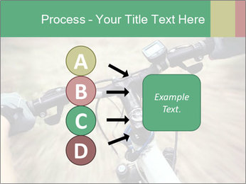 Bike on forest PowerPoint Template - Slide 94