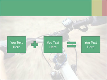 Bike on forest PowerPoint Template - Slide 95