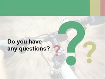 Bike on forest PowerPoint Template - Slide 96