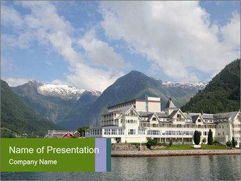 Balestrand PowerPoint Template - Slide 1