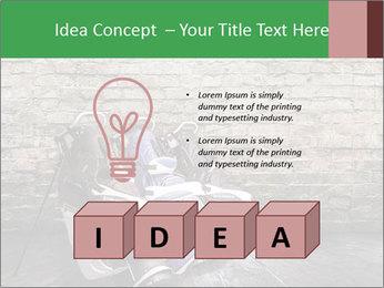 Old room PowerPoint Template - Slide 80
