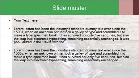 Old room PowerPoint Template - Slide 2