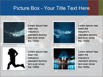 Swimming butterfly PowerPoint Templates - Slide 14