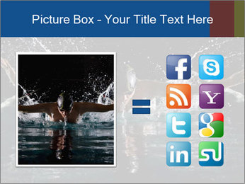 Swimming butterfly PowerPoint Templates - Slide 21