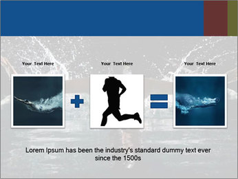 Swimming butterfly PowerPoint Templates - Slide 22