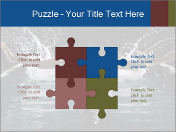 Swimming butterfly PowerPoint Templates - Slide 43