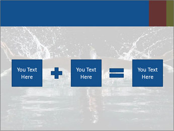 Swimming butterfly PowerPoint Templates - Slide 95