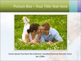 Old couple PowerPoint Template - Slide 15