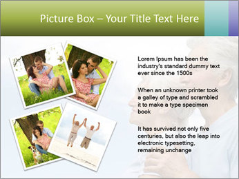 Old couple PowerPoint Template - Slide 23