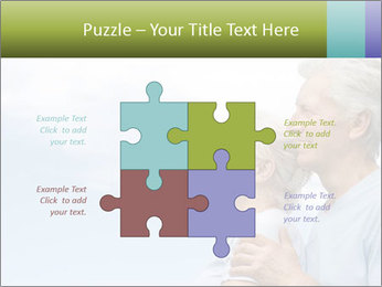Old couple PowerPoint Template - Slide 43