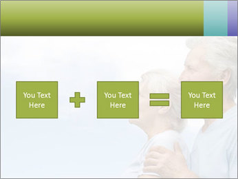 Old couple PowerPoint Template - Slide 95