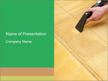Professional cleaning PowerPoint Template - Slide 1