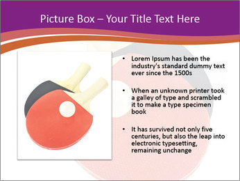 Tennis rackets PowerPoint Templates - Slide 13