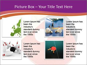 Tennis rackets PowerPoint Templates - Slide 14
