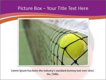 Tennis rackets PowerPoint Templates - Slide 15