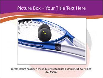 Tennis rackets PowerPoint Templates - Slide 16