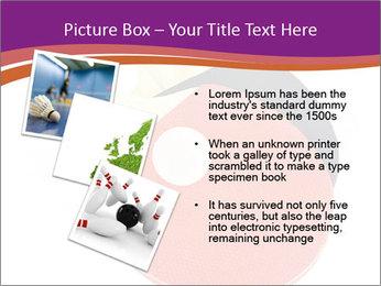 Tennis rackets PowerPoint Templates - Slide 17