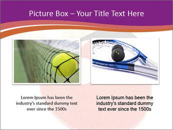 Tennis rackets PowerPoint Templates - Slide 18