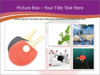 Tennis rackets PowerPoint Templates - Slide 19