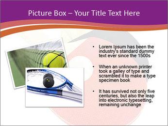 Tennis rackets PowerPoint Templates - Slide 20