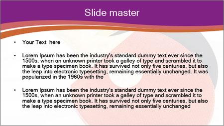 Tennis rackets PowerPoint Template - Slide 2