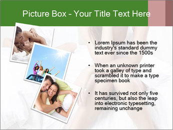 Attractive woman PowerPoint Template - Slide 17