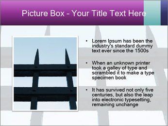 Iron fence. PowerPoint Templates - Slide 13