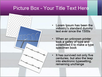 Iron fence. PowerPoint Templates - Slide 17