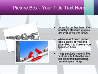 Iron fence. PowerPoint Templates - Slide 20