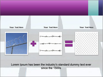 Iron fence. PowerPoint Templates - Slide 22