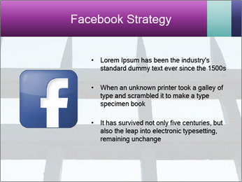Iron fence. PowerPoint Template - Slide 6